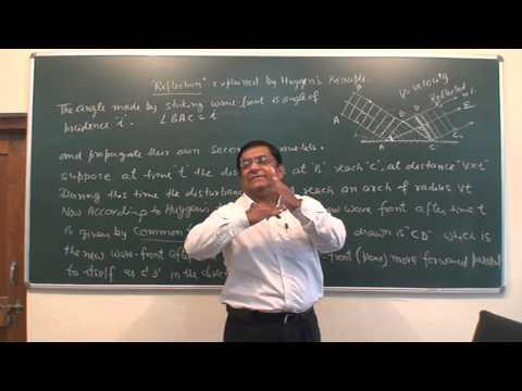 XII_78.Optics (Wave), Reflection & Refraction explanation
