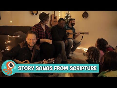 A Christmas Birthday | Story Songs from Scripture | JellyTelly