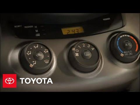 2011 RAV4 How-To: Defogging | Toyota