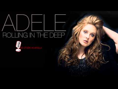 Adele - Rolling In The Deep (Studio Acapella) (HD) + Download