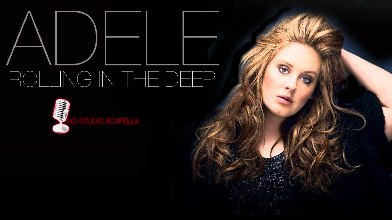 Adele - Rolling In The Deep (Studio Acapella) (HD ...