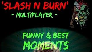 Black Ops 3 Funny/Best Moments - AXE BUDDIES! Slash N Burn Melee Weapon |Multiplayer|