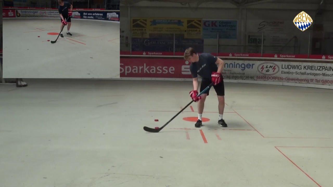 BEV OFF-ICE:  Stickhandling 8er