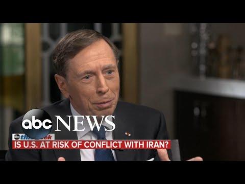 "David Petraeus: Bolton May Be ""Hard-Liner"" But Trump ""Not After Regime Change"" In Iran"