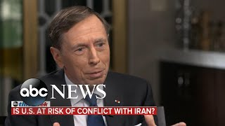Bolton May Be And39hard-linerand39 But Trump And39not After Regime Changeand39 In Iran Petraeus