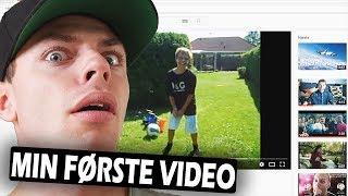 JEG FINDER MIN FØRSTE VIDEO NOGENSINDE (8 år gammel video!)