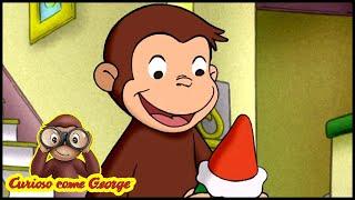 Curioso come George Campione di bowling Cartoni Animati per Bambini George la scimmia