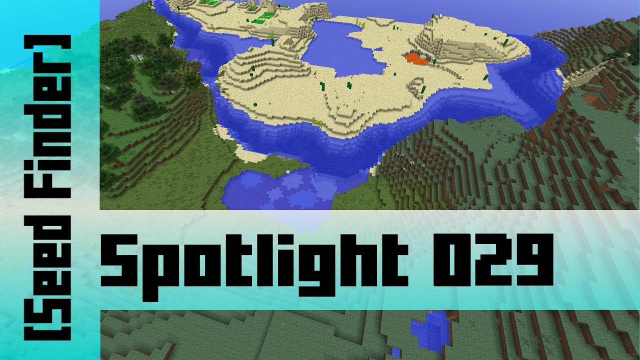 Rare all Biomes Seed [sZPeddy's Minecraft Seed Finder] 029