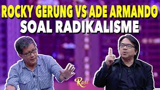 Rocky Gerung vs Ade Armando Soal Radikalisme | Ketika Jokowi Minta Maaf - ROSI (4)