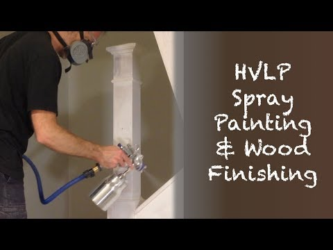 HVLP Spray Painting Stairs & Wainscoting (Staircase Renovation Episode 3)