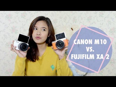 FUJIFILM XA-2 VS CANON M 10 ( REVIEW / COMPARISON )