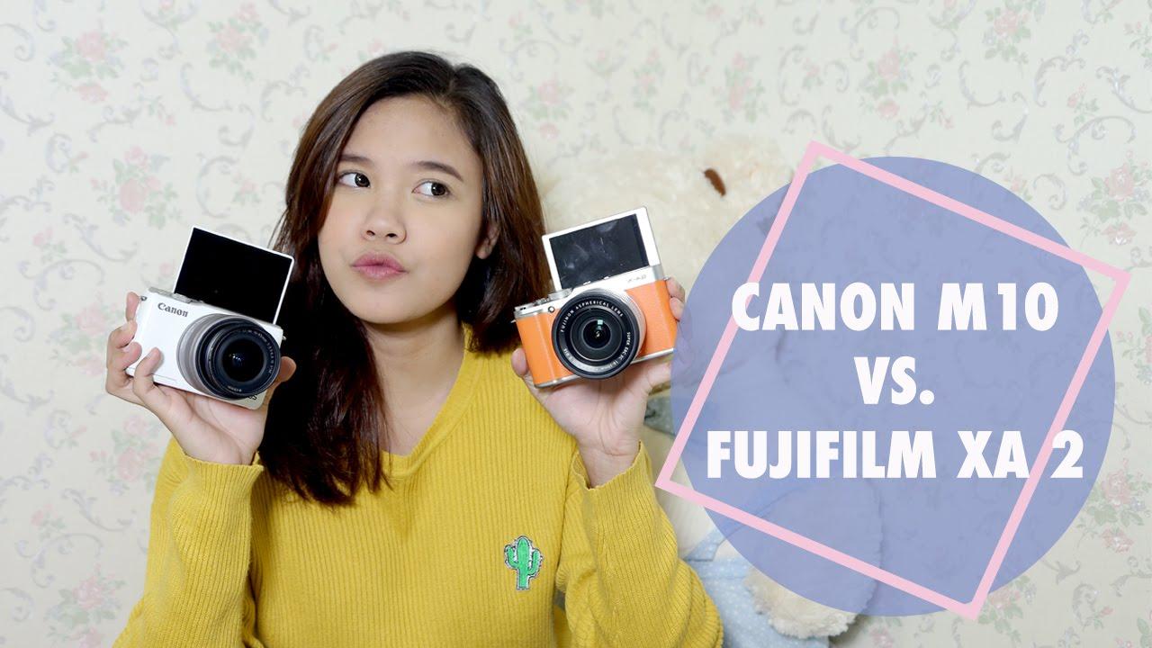 FUJIFILM XA 2 VS CANON M 10 REVIEW COMPARISON