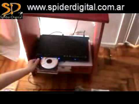 DVD VISSIONER MULTIZONA LEE TODO ENTRADA USB KARAOKE JUEGOS