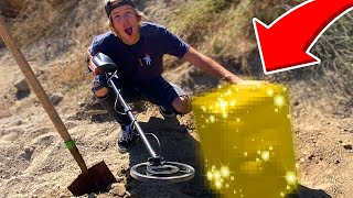 Hunting BURIED TREASURE using Metal Detectors! *MYSTERY SAFES*