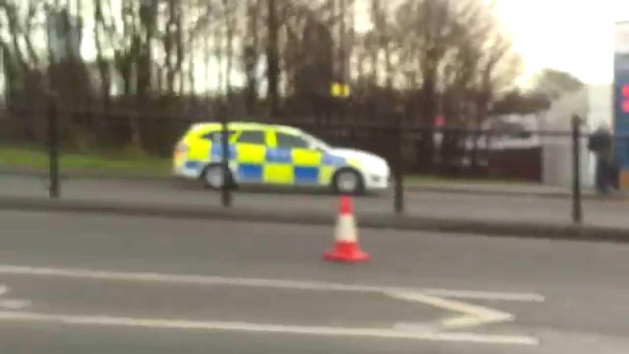 police car crash in rochdale - youtube