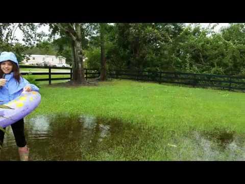 Hurricane Matthew  broadcast Havelock NC with Mary Alice McElvain