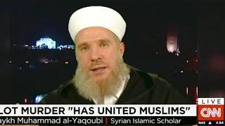 CNN: Jordan Pilot Martyrdom | Sh Muhammad al-Yaqoubi | 04-02-15