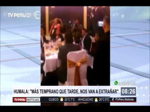 """Ollanta Humala: """"Más temprano que tarde nos van a extrañar"""""""
