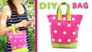 DIY PURSE TUTORIAL [SUMMER BAG From Scratch EASY]