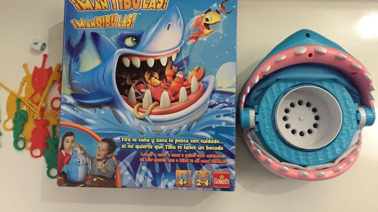video mantibulas juegos de mesa goliath tibur n de