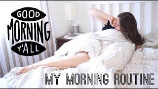МОЕ БЬЮТИ УТРО : СВЕЖИЙ МАКИЯЖ И УКЛАДКА MY MORNING ROUTINE
