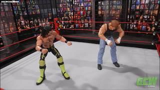 GCW Elimination Chamber `18: Intercontinental Championship Chamber Match   WWE Figures
