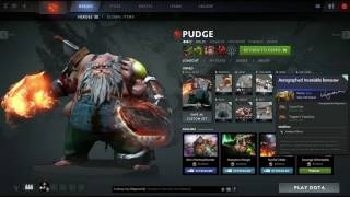 Pudge Mixed Set+Kinetic Gem: Trapper's Treachery+Crow's Feet