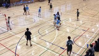 H29 ハンドボール春季二部リーグ 駿河台 vs 関東学院(2/5)