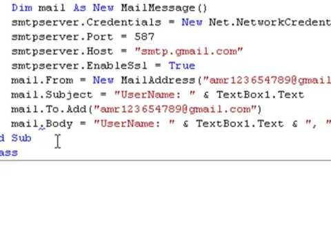 Visual Basic 2008 Windows Live Messenger Hacking
