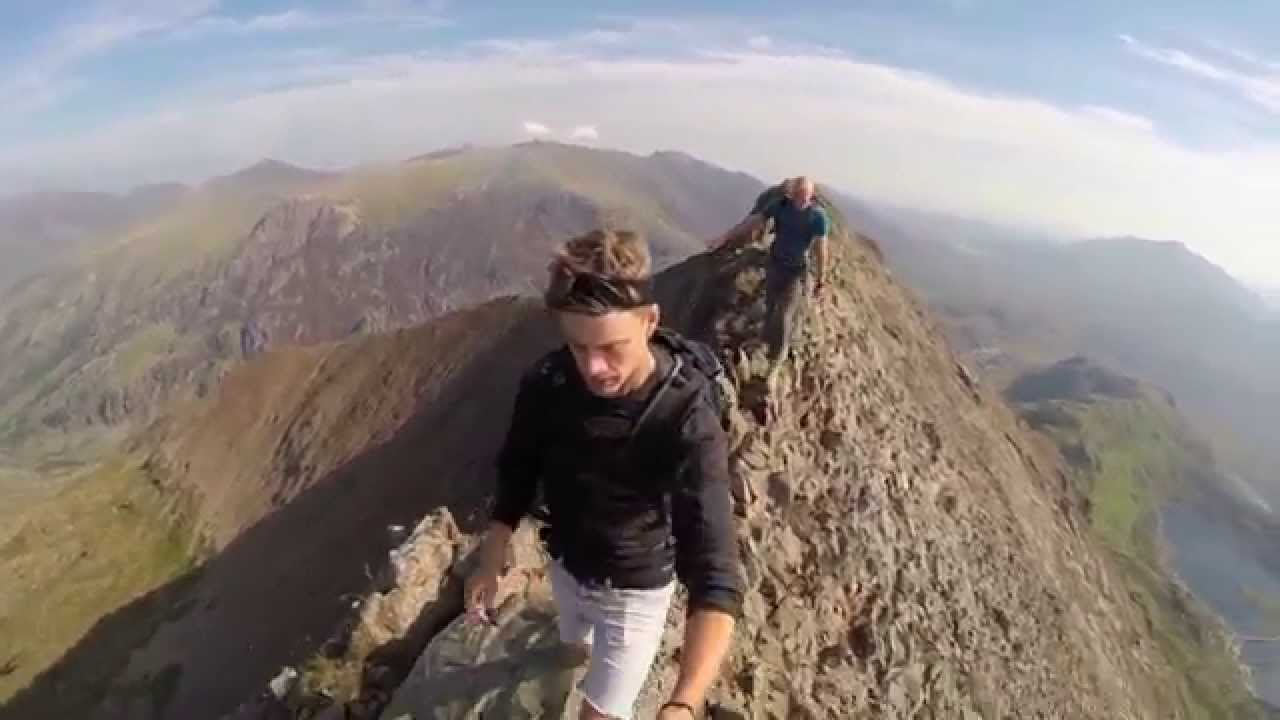 Crib Goch Knife Edge Youtube