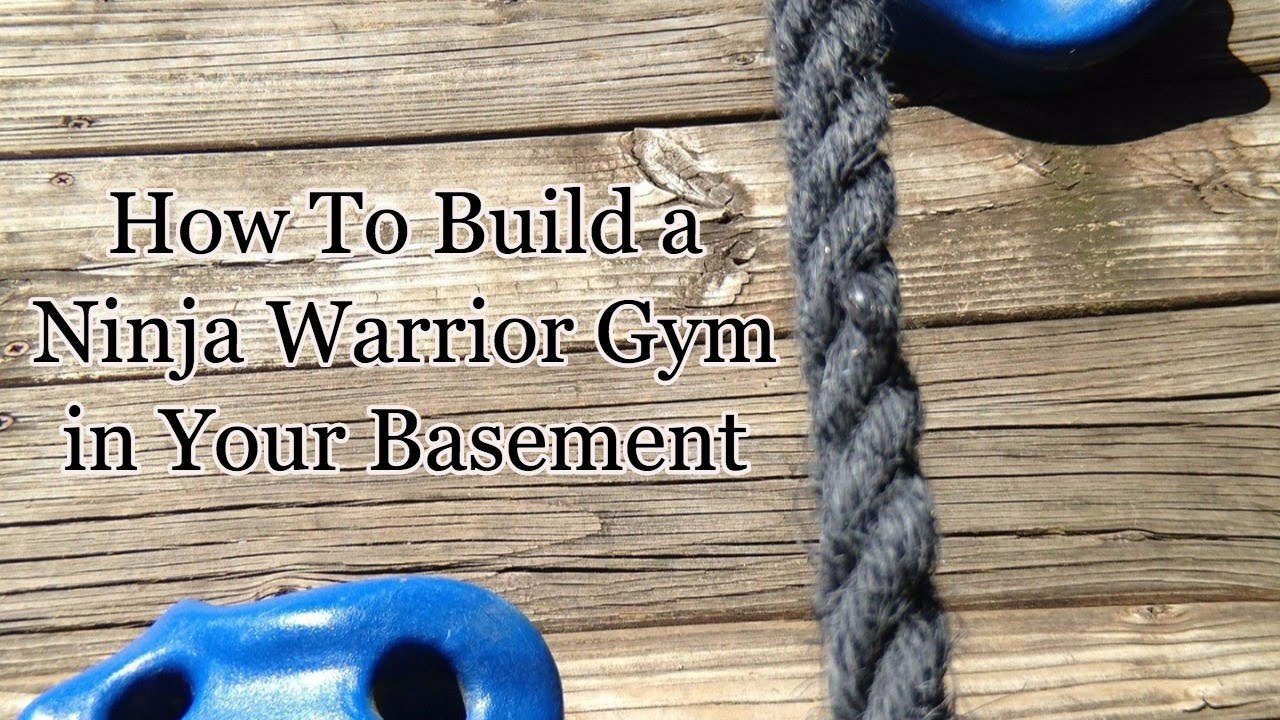 How to build a ninja warrior gym in your basement youtube