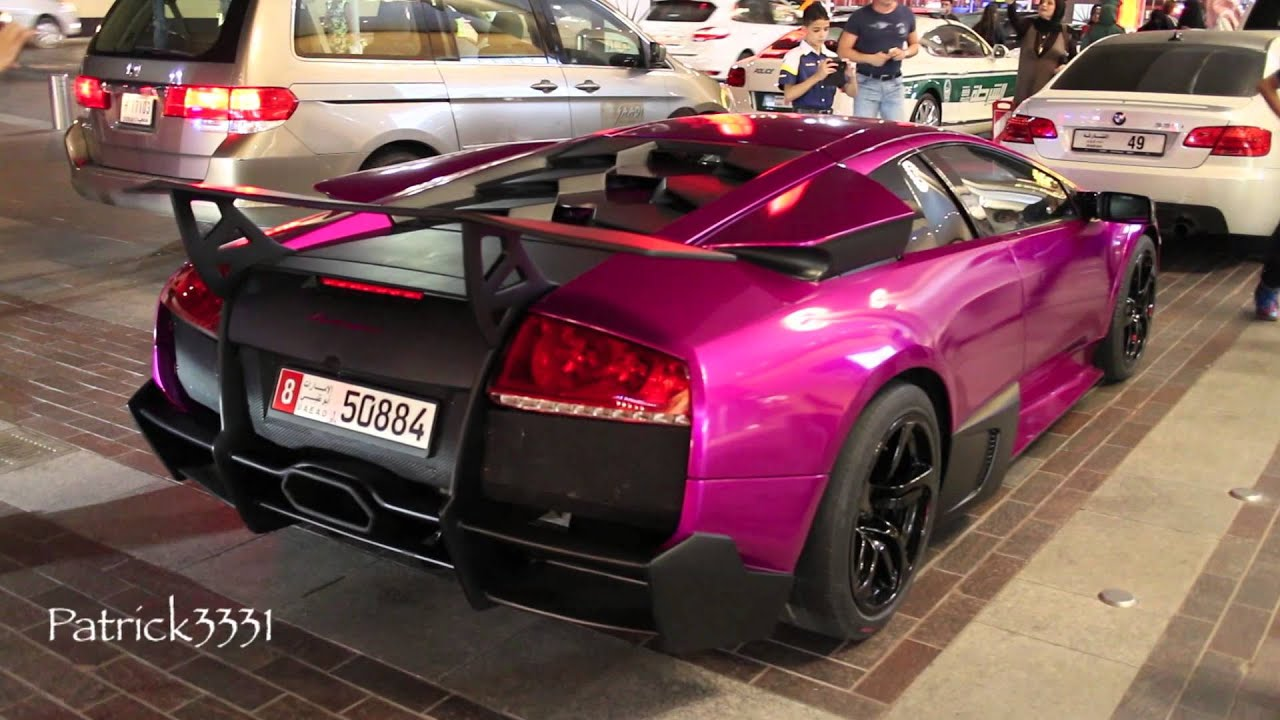 Purple Lamborghini Murcielago Sv Style Youtube