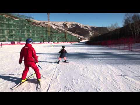 Secret Garden Skiing Resort Beijing China December 2014