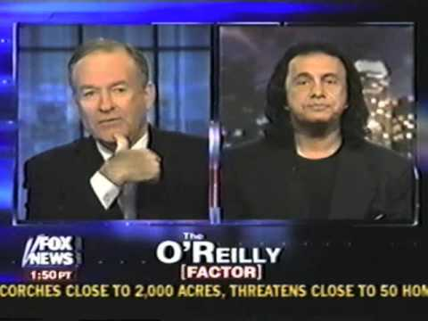 The O'Reilly Factor w/ guest Gene Simmons 2002
