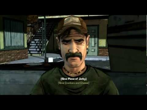 The Walking Dead: The Game - Kenny wants to eat