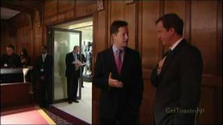 Mock the Week - Newsreel - Gordon Brown, Cameron & Clegg, The Queen & Prince Philip