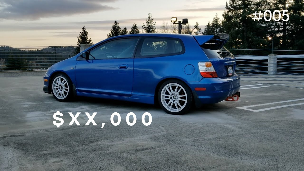2005 Honda Civic Si >> How Much Have I Spent Modding my Honda Civic Si? | 2005 ...