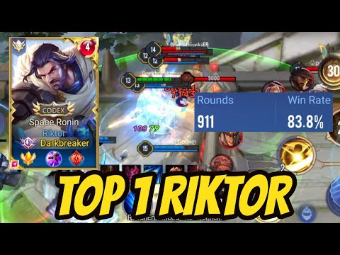 TOP 1 RIKTOR PRO - SERVER BEST RIKTOR - TOP RICHTER THế Giới | AoV | 傳說對決 | RoV | Liên Quân Mobile