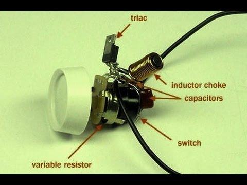 التمديدات الكهربائية الديمر قناة فادي التعليمية للكهرباء dimmer switch