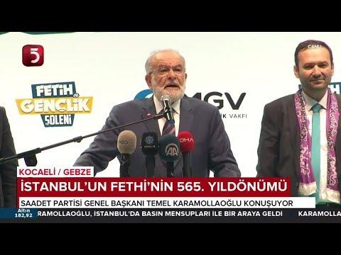 Temel Karamollaoğlu, AGD İstanbul'un Fethi'nin 565. Yılı Etkinliklerine Katıldı - 12.05.2018
