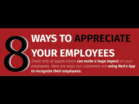 8 simple ways to appreciate your employees