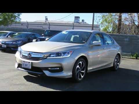 Certified 2017 Honda ACCORD Los Angeles San Fernando Valley, CA #HPL8326