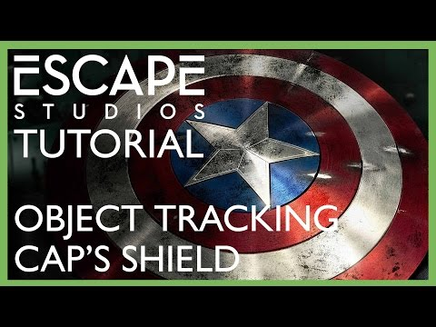 Make Captain America's shield with Object Tracking - Escape Studios Free Tutorial