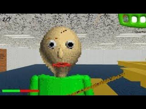 GOTTA SWEEP SWEEP SWEEP!: (WARNING HORROR GAME) Baldi's Basics in Education and Learning