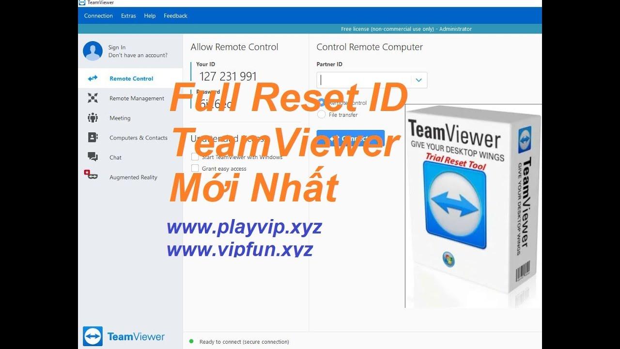 Tool reset Teamviewer lỗi hết hạn dùng thử 5 phút | Teamviewer dùng vĩnh viễn