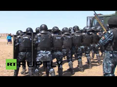 Kyrgyzstan: CRRF forces hold military drills in Kyrgyzstan