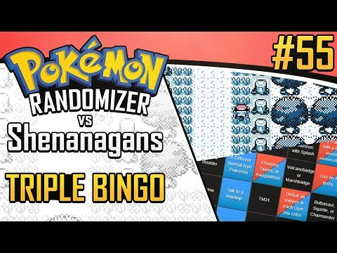Pokemon Randomizer Triple Bingo vs Shenanagans #55