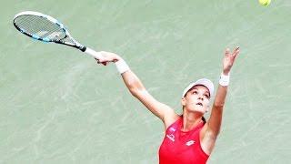 Belinda Bencic vs Agnieszka Radwanska Highlights TOKYO OPEN 2015 HD
