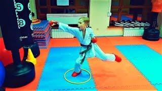 Тренировка кизами цуки, гяку цуки/Kizami tsuki, gyaku tsuki/Shotokan Karate Do/KARATE CLUB