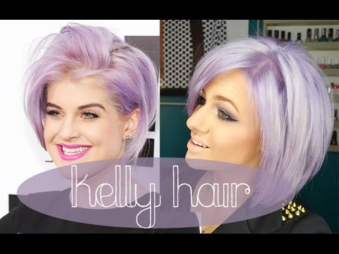 HOW TO Kelly Osbourne Hair Lilac Lavander Purple Hair